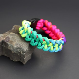 Rainbow Paracord Shark Jaw