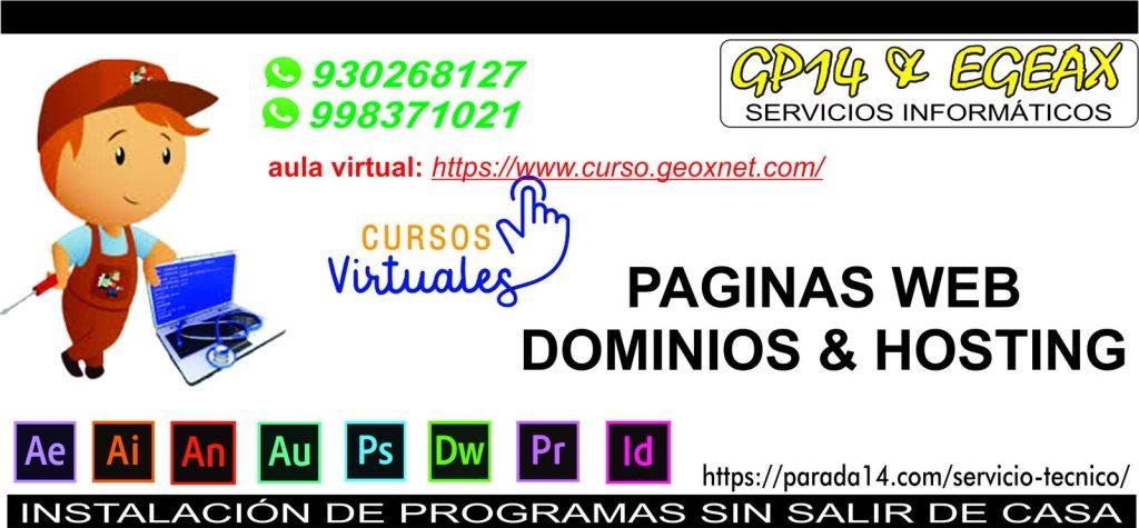 Alojamiento de Paginas Web - Hosting