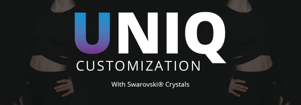 UNIQ customization banner