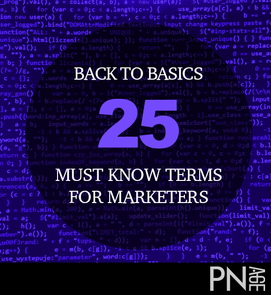 Are you a graduate with software testing or marketing or technical writing experience? Back to Basics: 25 Must Know Terms for Marketers ...