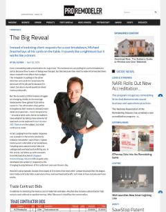 The Big Reveal Pro Remodeler Magazine