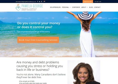 Pamela George Financial Literacy