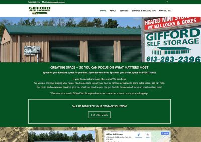 Gifford Self Storage