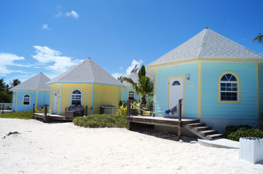 vue du cottage exuma de l'hotel paradise bay