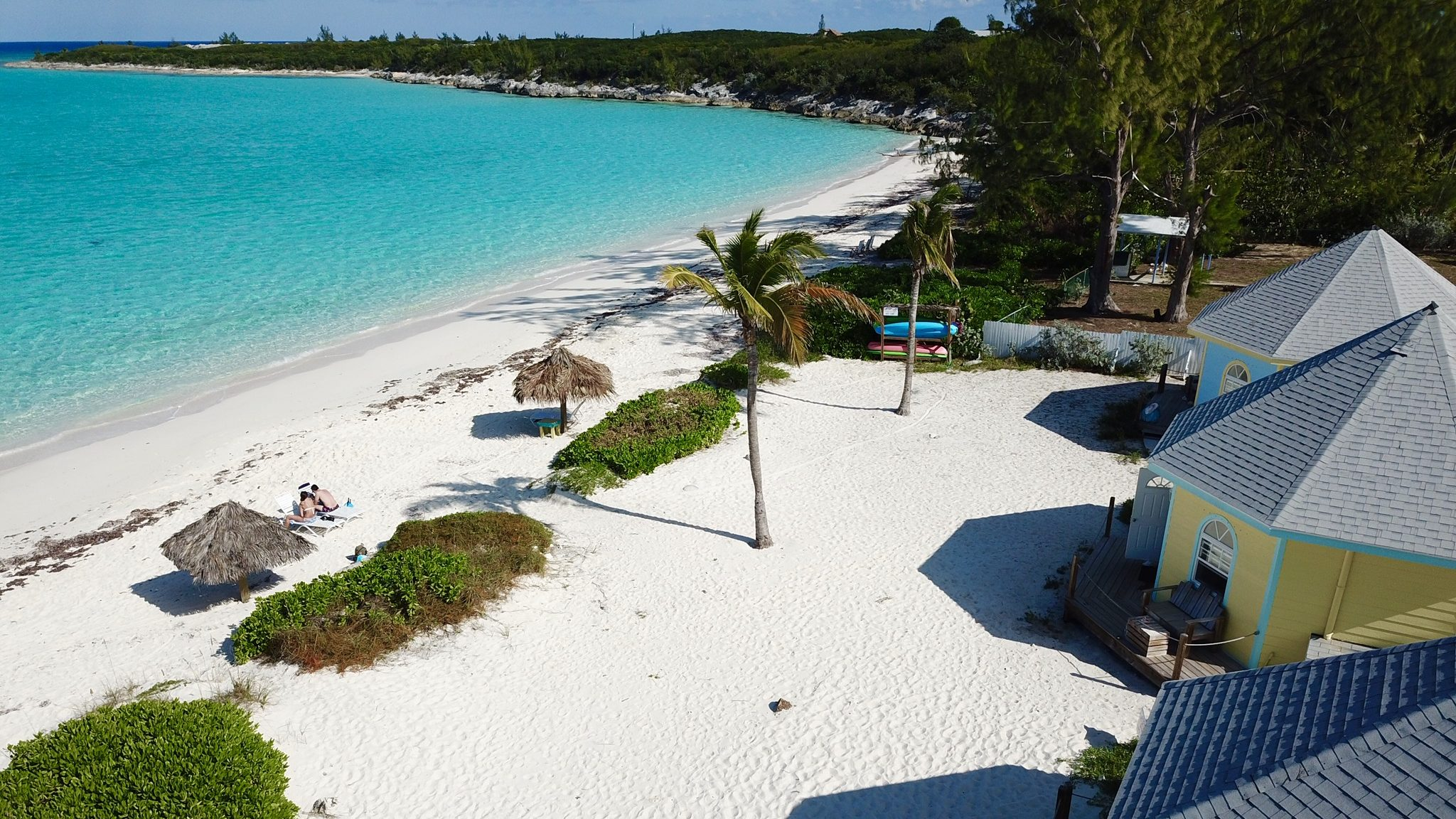 View Ocean Front Cottage Paradise Bay bahamas