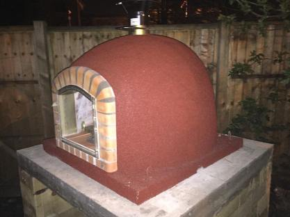 Pizza Oven Install Brand New