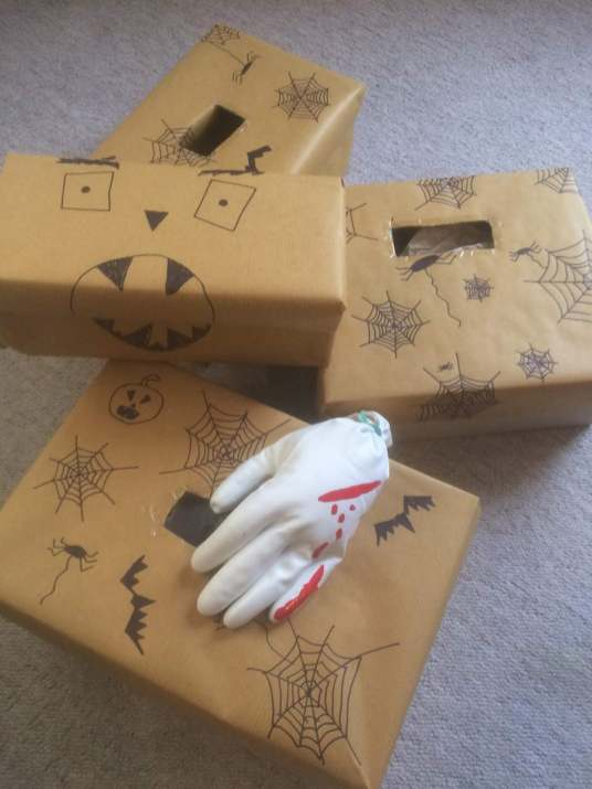 Paradise Cooperative Halloween Family Day Mystery Boxes
