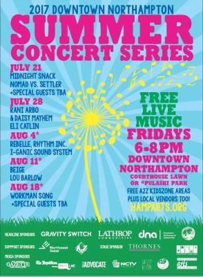 Downtown Northampton Summer Concert Series Presents: Beige, Lou Barlow