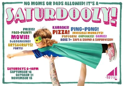 SATURDOOZY: KIDS NIGHT OUT AT STUDIO4 IN NORTHAMPTON
