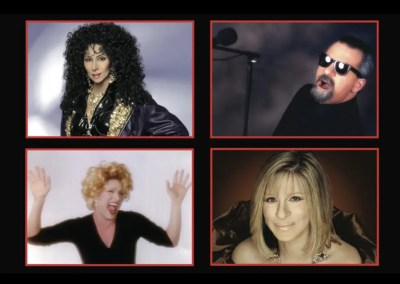"An Evening with Cher, Billy Joel, Bette Midler, & Barbara Streisand: ""An Evening with the Stars"" featuring THE EDWARDS TWINS"