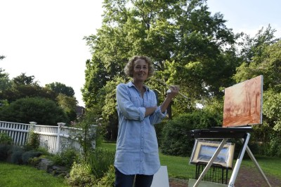 Vive La France! En Plein Air Painting Festival Falls on Eve of Bastille Day