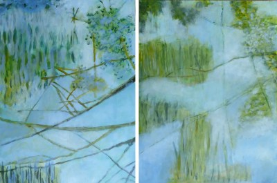 October in the Hosmer Gallery: Paintings by Anne-Marie Taylor and Anne LaPrade Seuthe