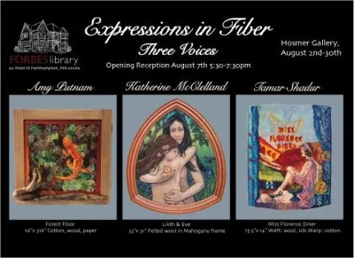 Expressions in Fiber: Three Voices