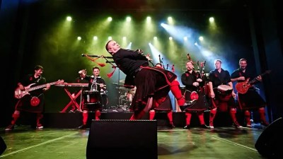 The Red Hot Chilli Pipers at The Academy of Music Theatre