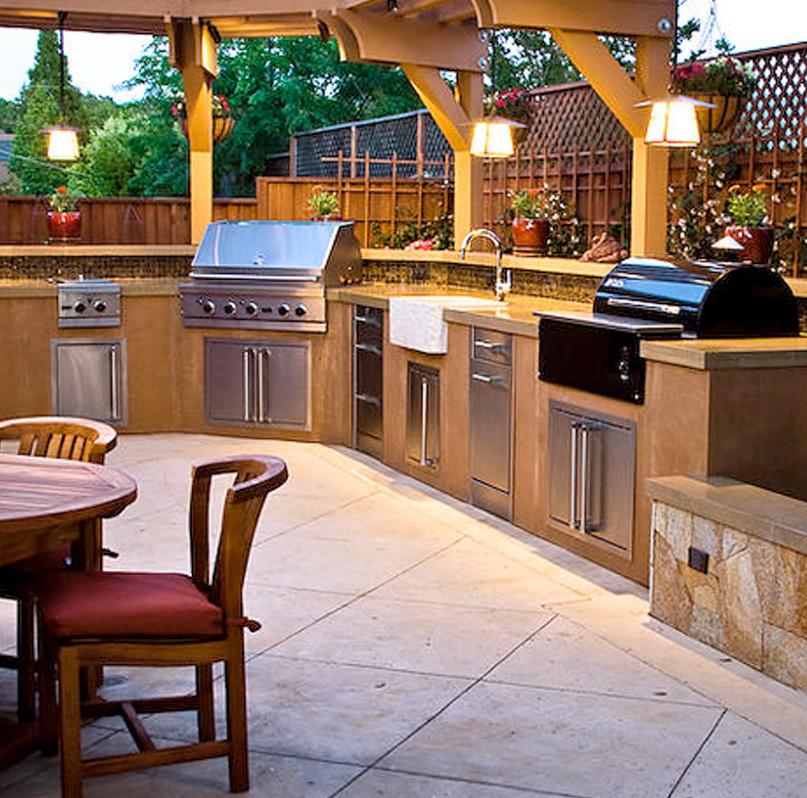 Custom Outdoor Kitchens Palm Beach   Kitchen Grills Palm ... on Patio Kitchen id=88551
