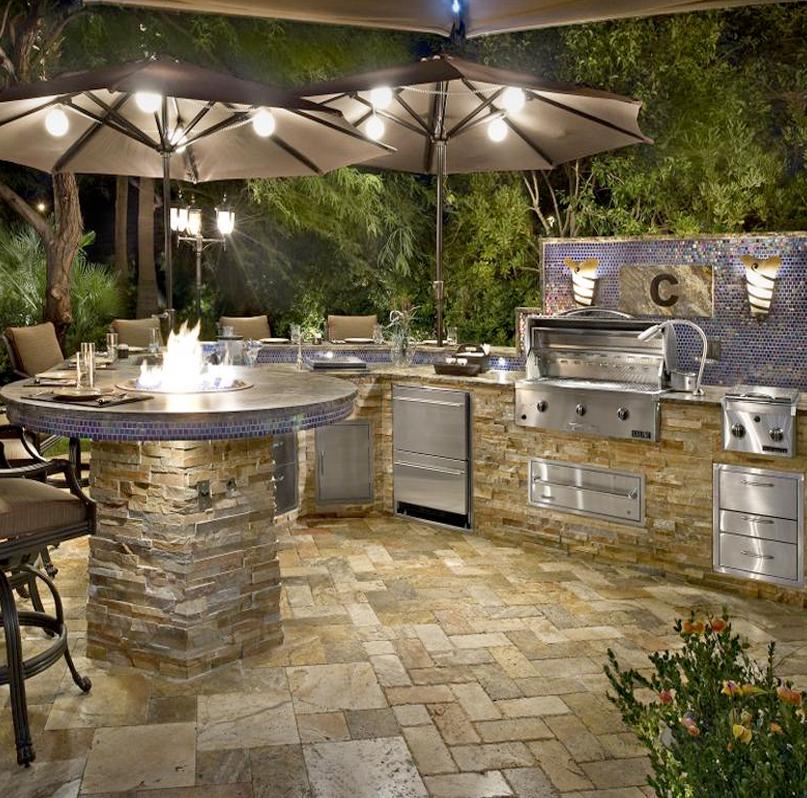 Custom Outdoor Kitchens Palm Beach | Kitchen Grills Palm ... on Outdoor Kitchen Patio  id=98799