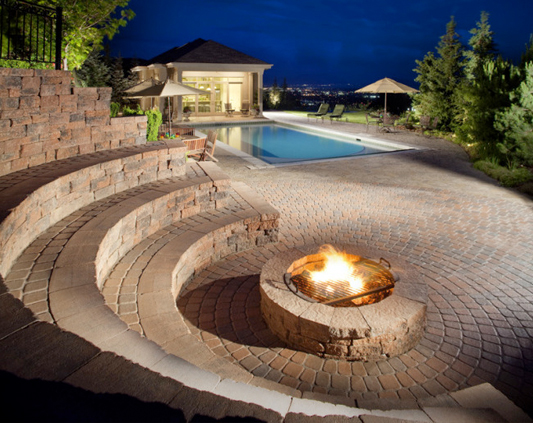 Custom Fireplaces Amp Fire Pits West Palm Beach Outdoor