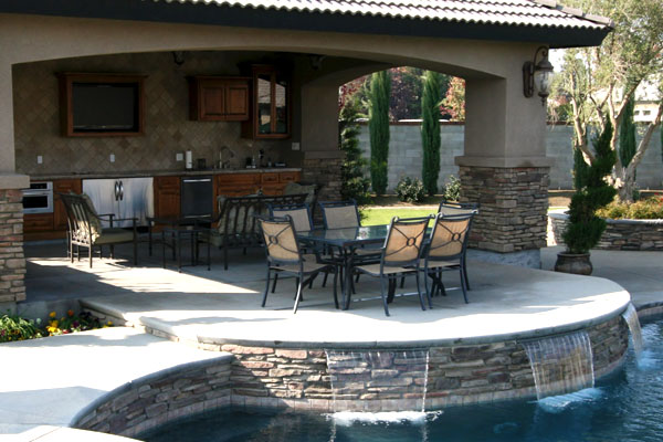 Outdoor Living - Paradise Pools and Spas - Bakersfield on Outdoor Living Spa id=89194