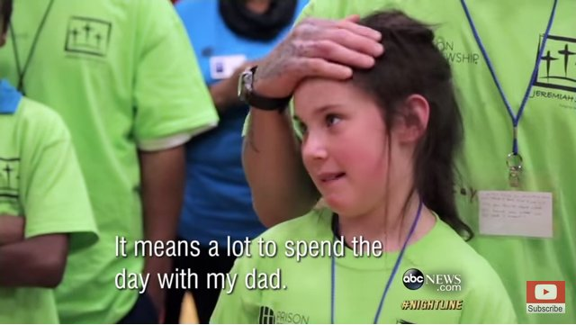 "Kids Visiting Dads in Prison – ""One Day With God"" Program – Touches the Heart!"