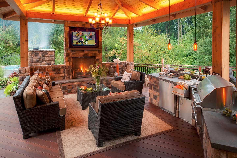 outdoor kitchen ideas paradise
