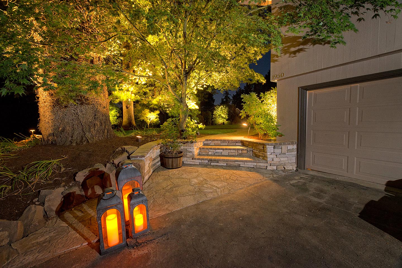 outdoor lighting ideas paradise
