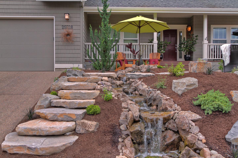 Front Yard Waterfall Ideas - Paradise Restored Landscaping on Front Yard Waterfall Ideas id=55968