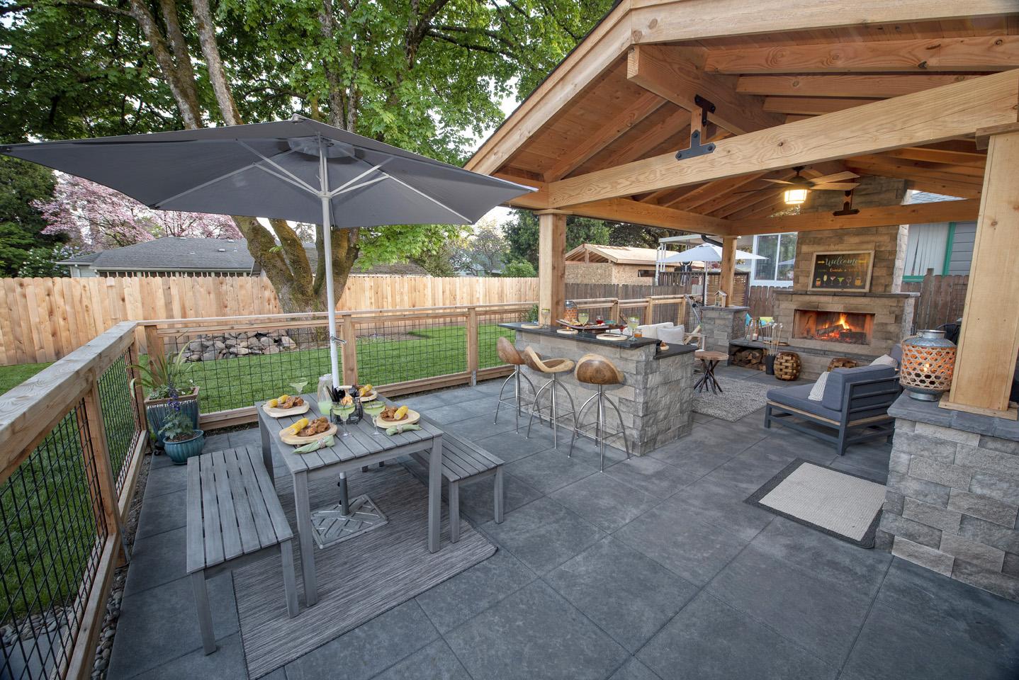 Backyard Patio Designs - Paradise Restored Landscaping on Backyard Patio Designs  id=37239
