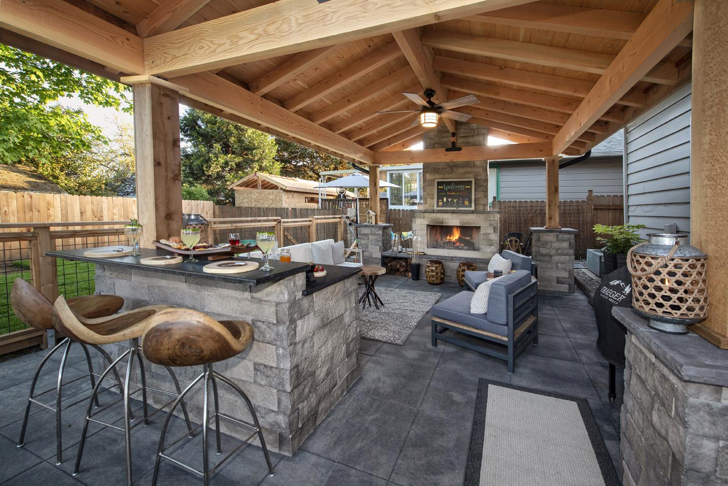 Backyard Patio Designs - Paradise Restored Landscaping on Backyard Patio Designs  id=38751