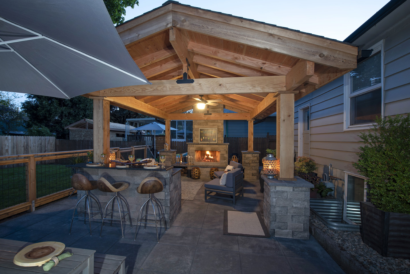 Backyard Patio Designs - Paradise Restored Landscaping on Backyard Patio  id=87608