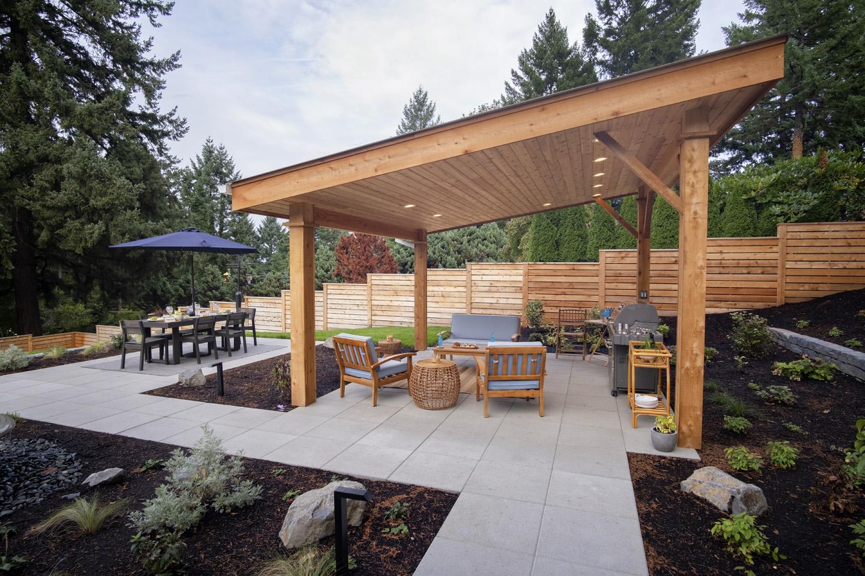 Sloped Backyard Ideas - Paradise Restored Landscaping on Backyard With Slope Ideas  id=13335