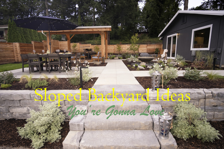 Sloped Backyard Ideas - Paradise Restored Landscaping on Backyard With Slope Ideas  id=79829