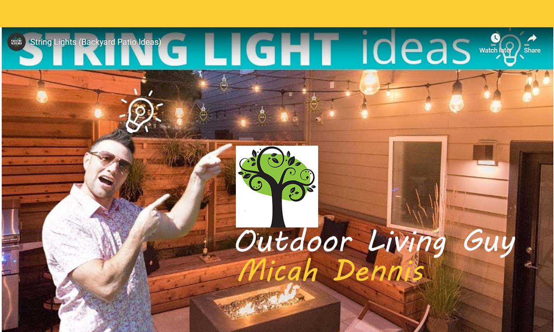 patio string lights paradise restored