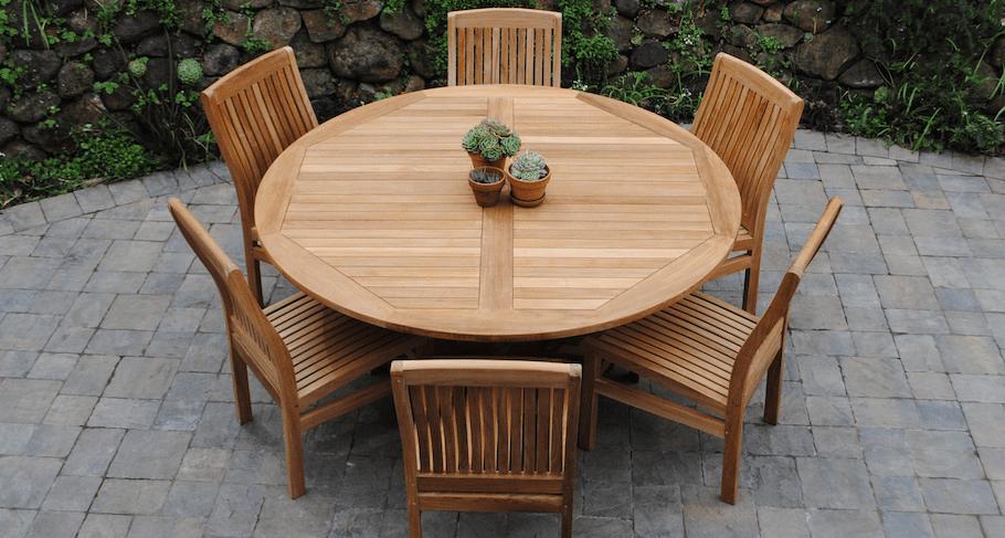 teak outdoor patio furniture paradise