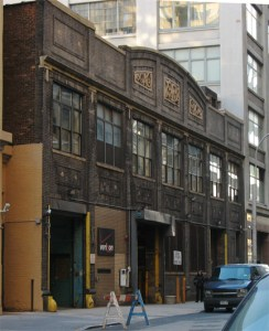 The original site of Paradise Garage, 84 King Street, New York.