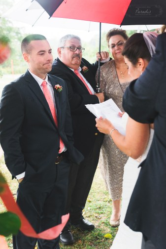 Destination Wedding Photographer Groom Preparations New England