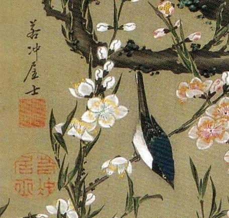 18_桃花小禽図-0001