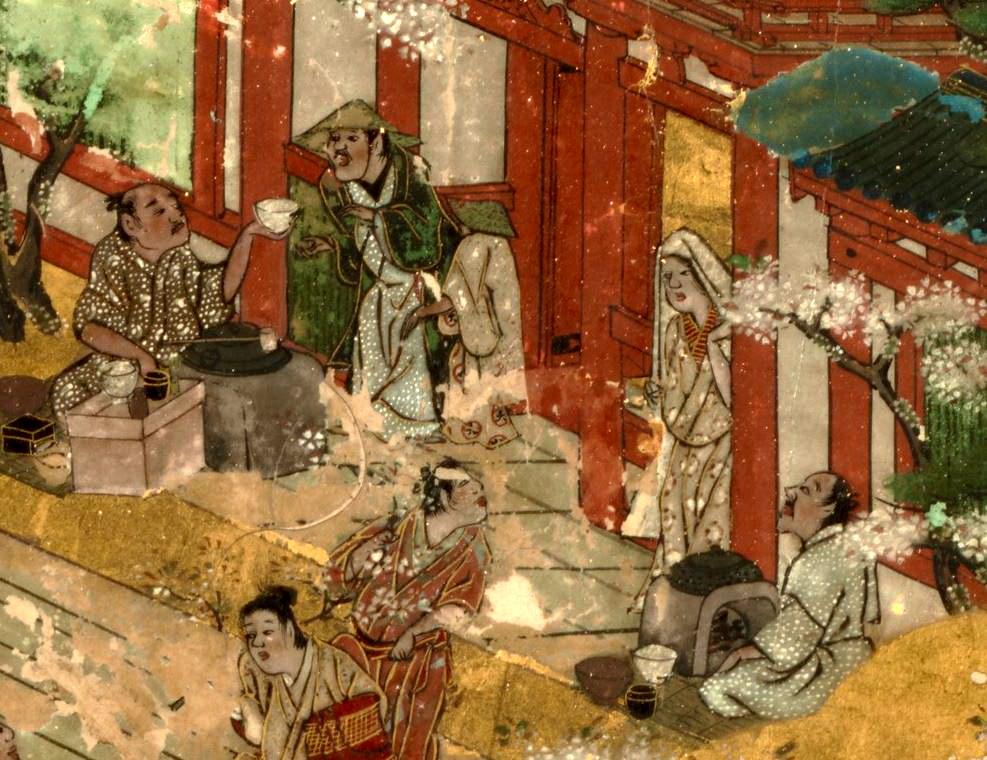 岩佐又兵衛 Iwasa Matabei 洛中洛外図 舟木本Folding Screens of Scenes In and Around Kyoto (Funaki Version)-03