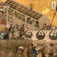 洛中洛外図 舟木本⑥ 四条河原