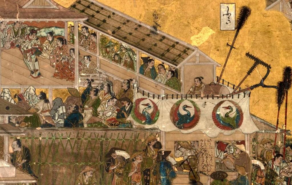 岩佐又兵衛 Iwasa Matabei 洛中洛外図 舟木本Folding Screens of Scenes In and Around Kyoto (Funaki Version)-20