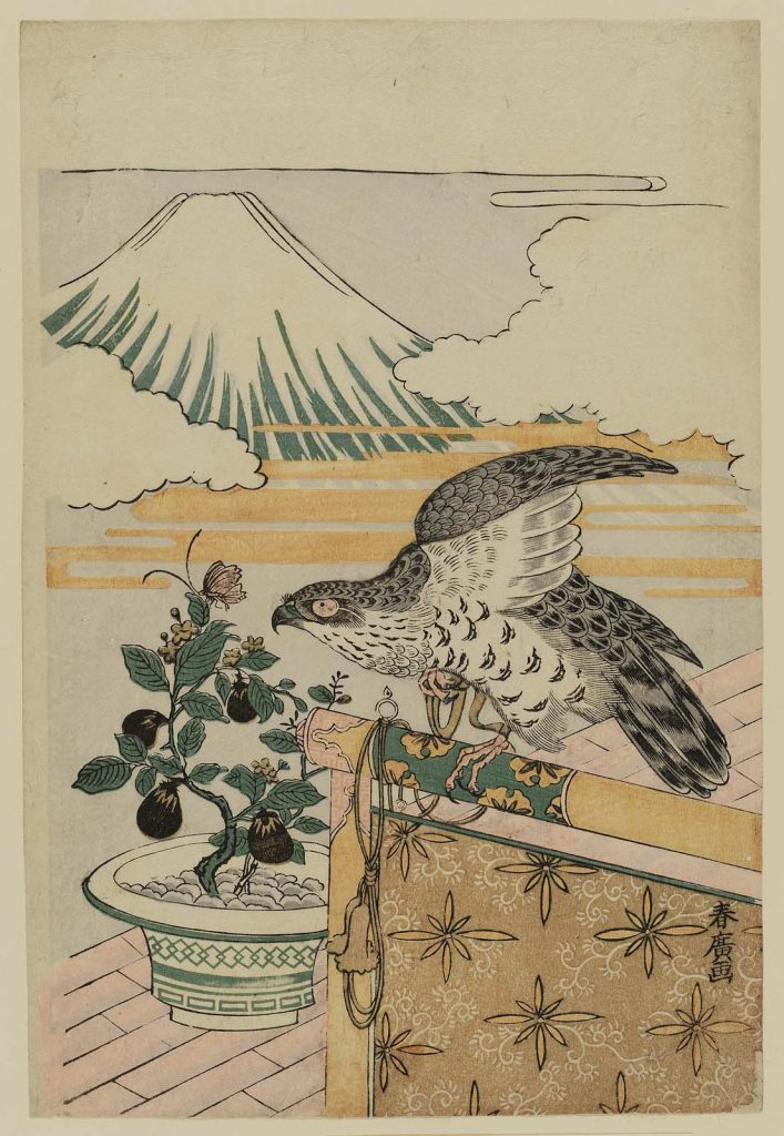Isoda Koryûsai_Dream symbols of the New Year