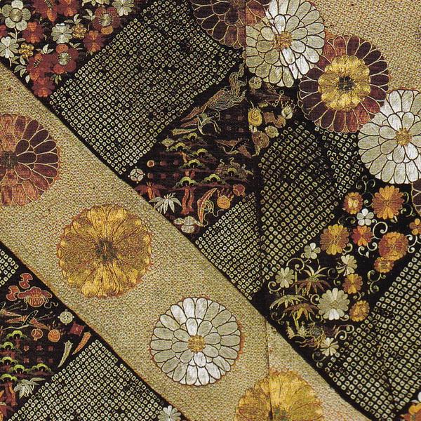 Koshimaki with chrysanthemum and auspicious motifs-01