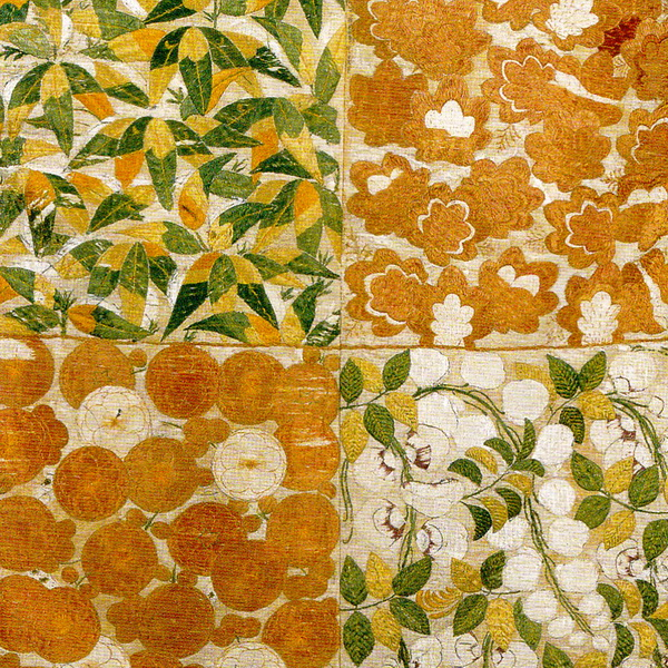 Kosode with motifs of the four seasons