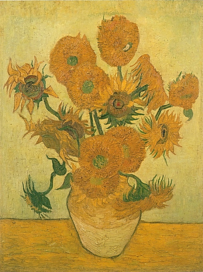 Gogh_ sunflower
