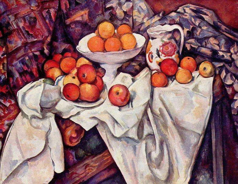 「セザンヌの林檎とオレンジ」の画像検索結果