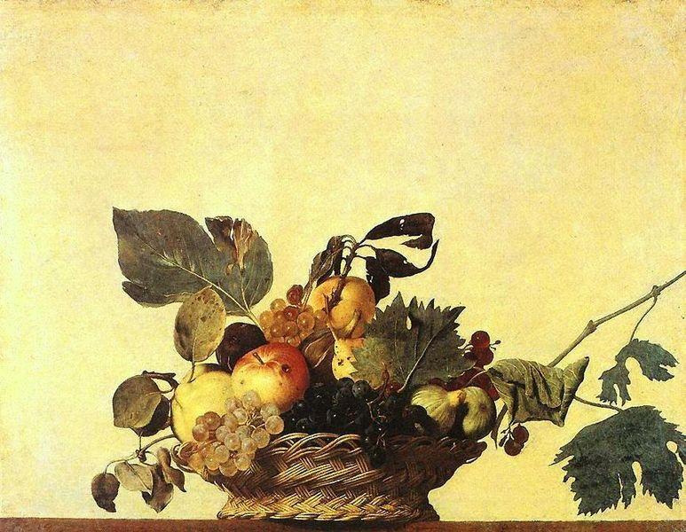 カラヴァッジョ『果物籠』