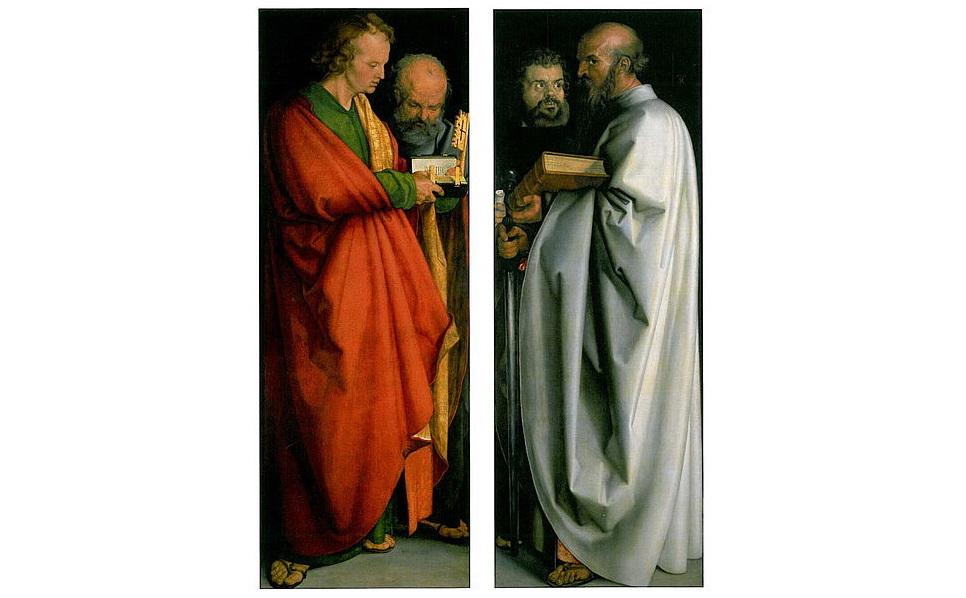デューラー『四使徒』