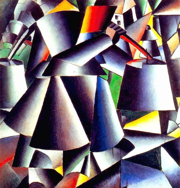 Malevich-peasant-woman-1912