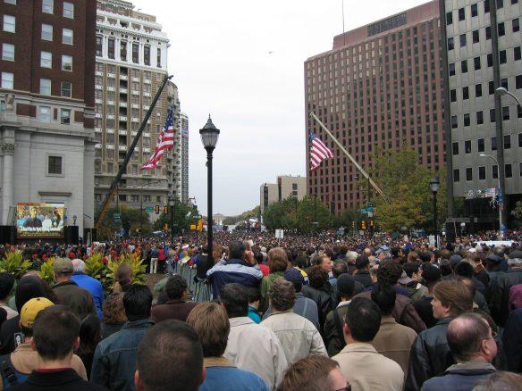 John Kerry rally Philly