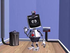 Elbot, un terminator qui ne paie pas de mine