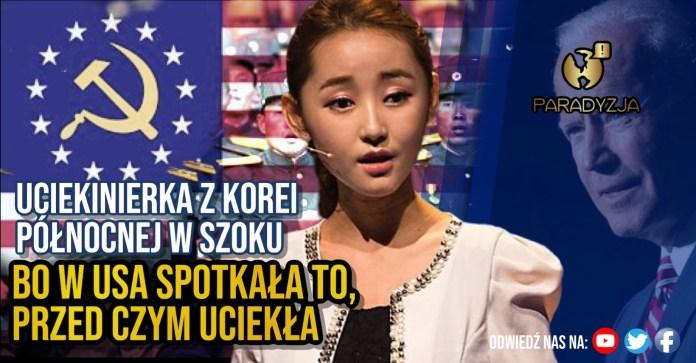 Uciekinierka z Korei Północnej w szoku, bo w USA spotkała to, przed czym uciekła